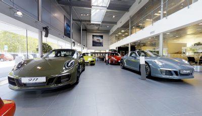 Тур Matterport по автосалону Porsche 3D Model