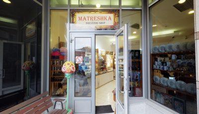 Matterport тур по сувенирной лавке Matreshka 3D Model