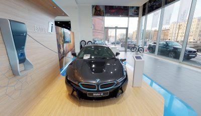 Matterport 3D тур по автосалону BMW 3D Model