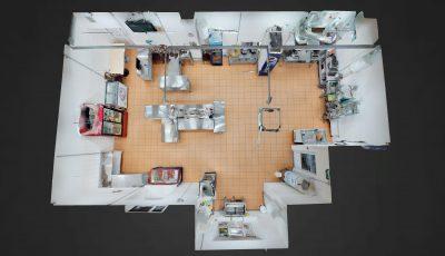 Виртуальный тур по кухне Суши и Лапша 966 3D Model