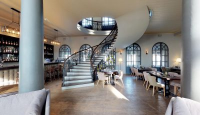 Панорамный тур Matterport по ресторану Stage