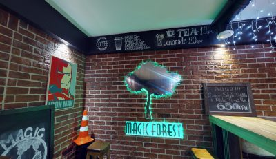 Тур Matterport 360 по вейп-шопу Green Forest 3D Model