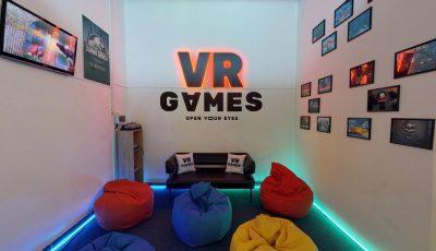 Виртуальный тур по игровому залу VR Games 3D Model