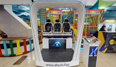 Виртуальный тур по VR-аттракциону X-Ride 3D Model